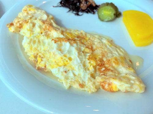 クルーズ船「セレブリティミレニアム」のブッフェ「オーシャンビューカフェ」の朝食の和食